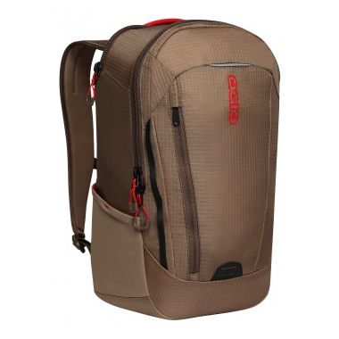 OGIO Apollo Pack in Khaki/Red