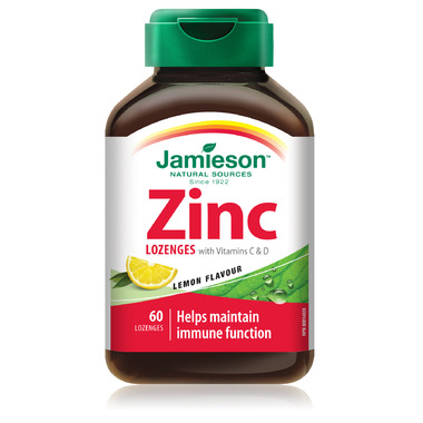 Jamieson Zinc Lozenges with Vitamin C