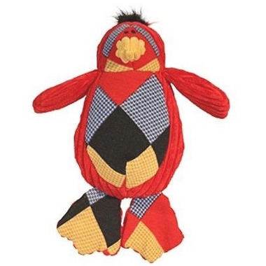 Hugglehounds Chubbie Buddies Squeaky Large Penguin Dog Toy