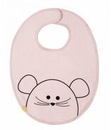 Lassig Little Chums Waterproof Medium Bib Mouse