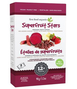 First Food Organics Superfruit Stars Strawberry, Rhubarb & Beet
