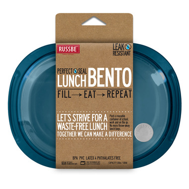Russbe Oval Perfect Seal Bento Tahoe Blue