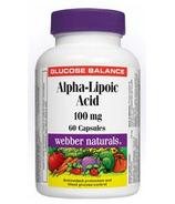 Webber Naturals Alpha Lipoic Acid