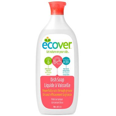 Ecover Liquid Dish Soap Pink Geranium