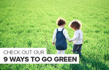 9 Ways to Go Green