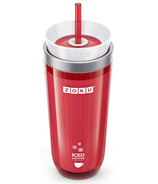 Zoku Iced Coffee Maker in Red