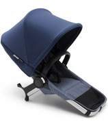Bugaboo Donkey2 Duo Extension Set Blue Melange & Sky Blue