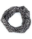 Vonbon Jersey Infinity Cowl Speckled Black