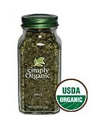 Simply Organic Sweet Dried Basil