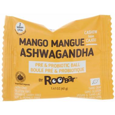 Roobar Mango Ashwgandha Roobiotic Pre & Probiotic Ball