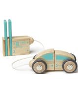 Tegu Magnetic Wooden Block Set Circuit Racer