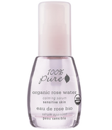 100% Pure Organic Rose Water Calming Serum