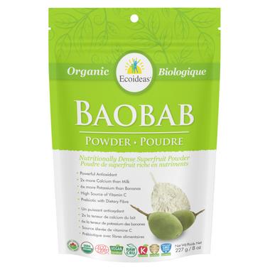 Ecoideas Organic Baobab Powder