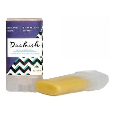 Duckish Natural Skin Care Lavender Lotion Stick Mini