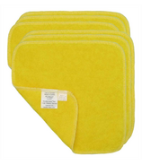 Motherease Cotton Baby Wipes Yellow