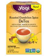 Yogi Tea Organic Roasted Dandelion Spice Detox