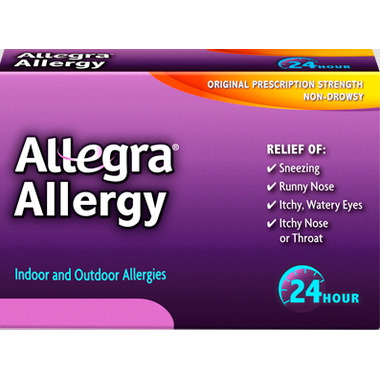 Allegra Allergy 24 Hour Relief