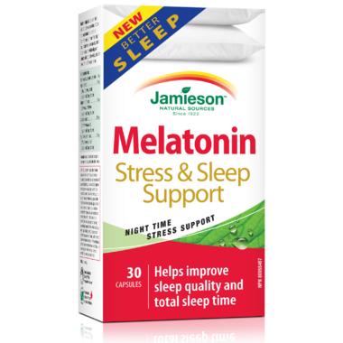 Jamieson Melatonin Sleep & Stress Support