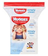 Huggies Simply Clean Fragrance Free Wipes Refill