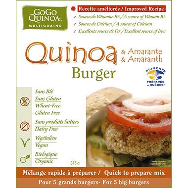 GoGo Organic Veggie Quinoa Burger