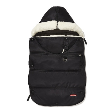 Skip Hop Black Stroll & Go Three Season Footmuff Infant
