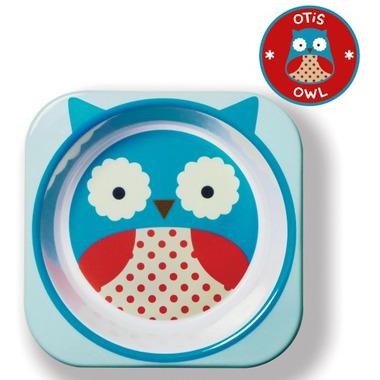 Skip Hop Zoo Tableware Melamine Bowl Owl Design