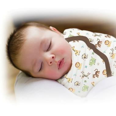 Summer Infant SwaddleMe Cotton Knit Jungle