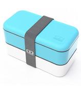 Monbento MB Original The Bento Box in Blue & White