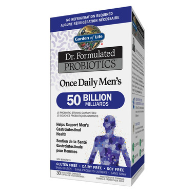 Garden of Life Dr. Formulated Probiotics Once Daily Men\'s