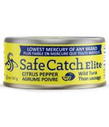 Safe Catch Elite Wild Tuna Citrus Pepper