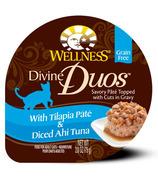 Wellness Divine Duos Tilapia Pate & Diced Ahi Tuna