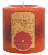 Pacifica Pillar Candle Tuscan Blood Orange