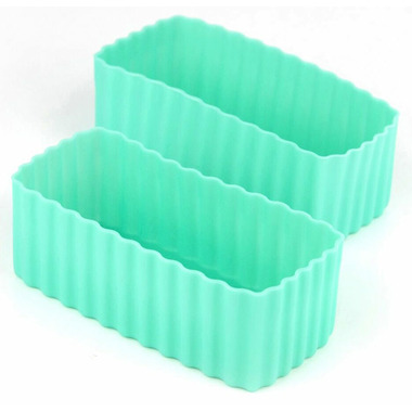 Little Lunch Box Co. Bento Cups Rectangle Mint