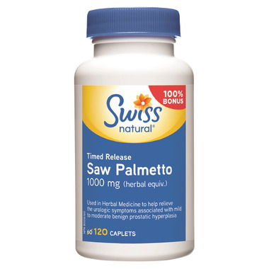 Swiss Natural Timed Release Saw Palmetto BONUS