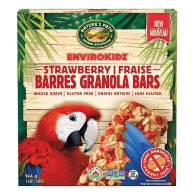 Nature\'s Path EnviroKidz Granola Bars Strawberry