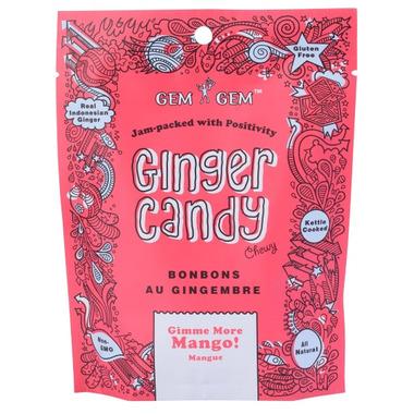 Gem Gem Mango Ginger Candy