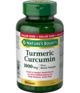 Nature's Bounty Turmeric Curcumin Plus Black Pepper