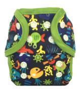 Bummis Swimmi One-Size Swim Diaper Under The Sea Blue