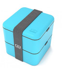 Monbento MB Square The Square Bento Box in Light Blue