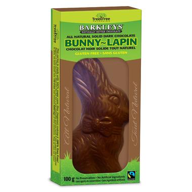 Barkley\'s Bunny Solid Dark Chocolate