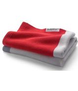 Bugaboo Light Cotton Blanket Neon Red Multi