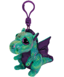 Ty Cinder The Dragon Beanie Boos Clip