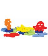 Ubbi Sea Critters Foam Bath Toys