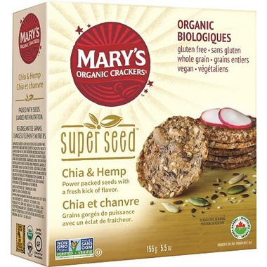 Mary\'s Organic Crackers Super Seed Crackers