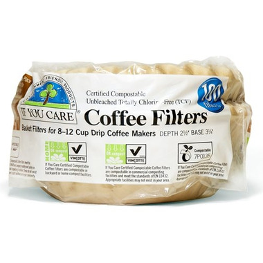 If You Care Coffee Filters for 8 inch Basket