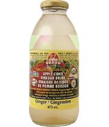 Bragg Organic Apple Cider Vinegar Drink Ginger