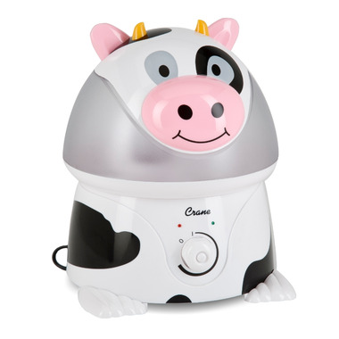 Crane Cool Mist Adorable Cow Humidifier