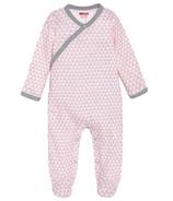 Skip Hop Petite Triangles Side-Snap Sleeper Pink