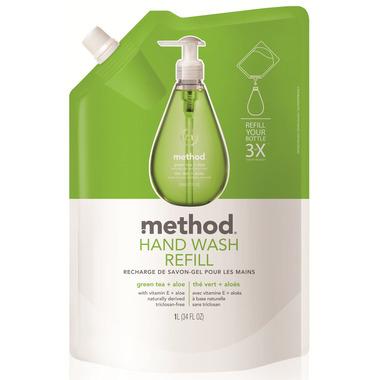 Method Gel Hand Wash Refill Green Tea + Aloe