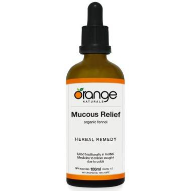 Orange Naturals Mucous Relief Tincture